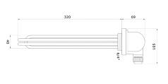 3x1000W Type W-3x1KUKO 5/4''